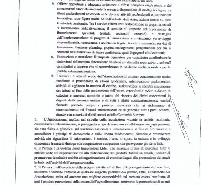 PROTOCOLLO DI INTESA CILP ITALIA, GOLDEN BOSSA FOOD_page-0002