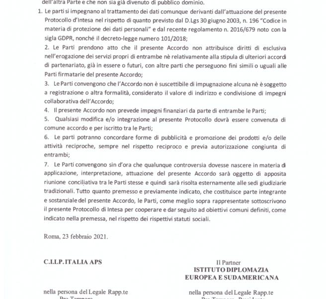 PROTOCOLLO DI INTESA, PAG. 5