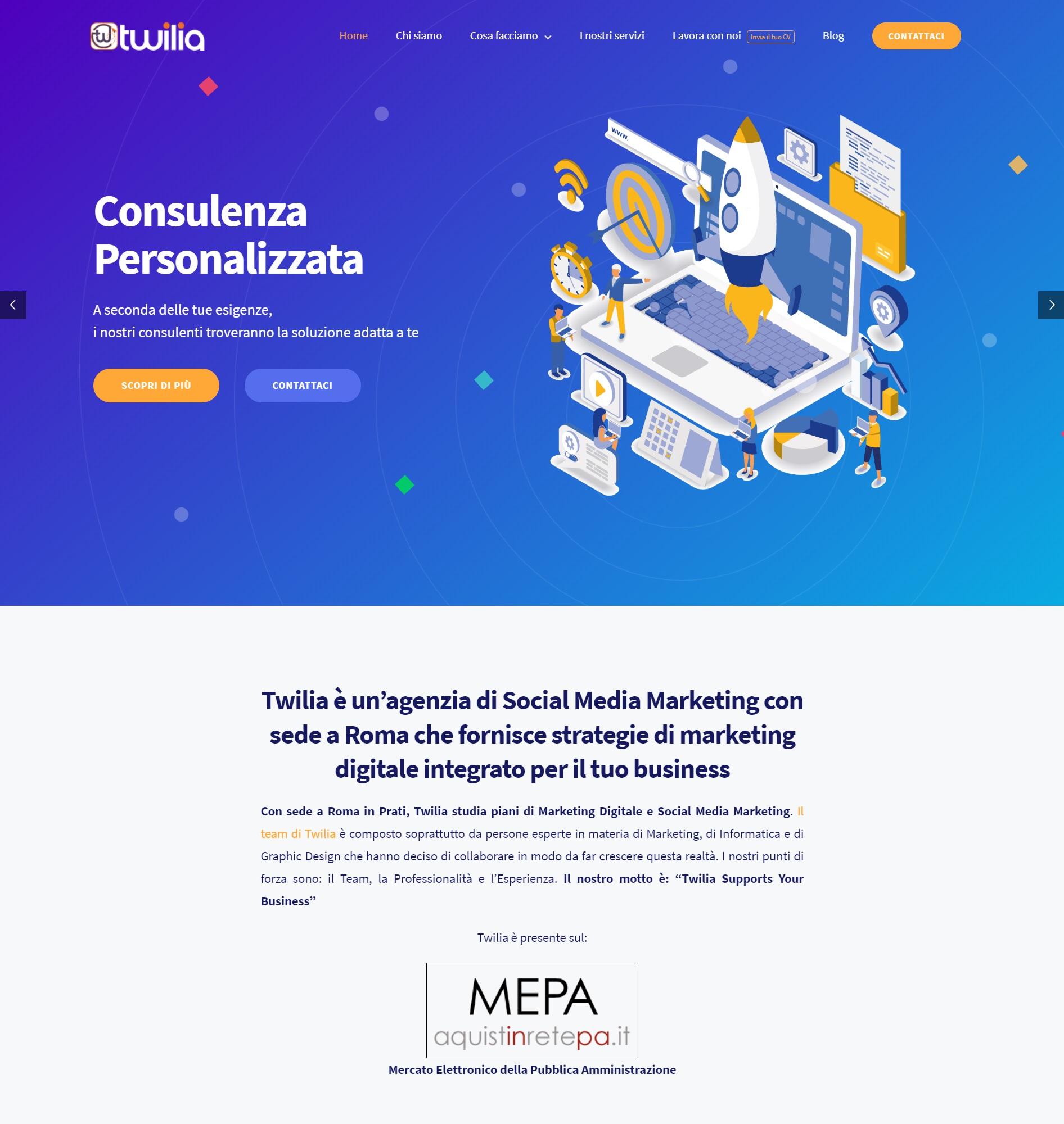 Twilia - Social Media Agency