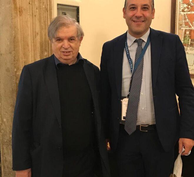 l'Avv. Pulcini e Monsignore Prof. Padre Francesco Cuccimarra della Pontifacia Università Urbaniana