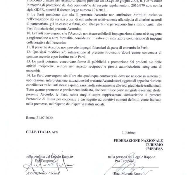 protocollo cilp e federazione turismo impresa6